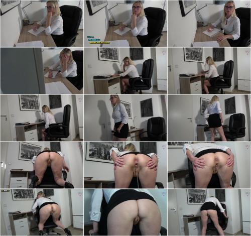 Dirty-Tina - Frech ins Büro gepisst [FullHD 1080P]