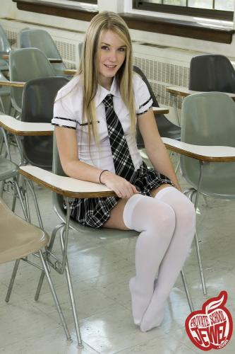 Privateschooljewel  003. Schoolgirl classrom