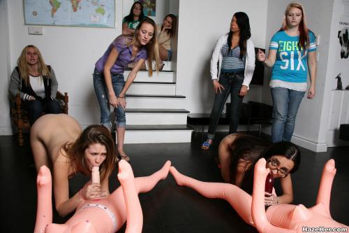 hazeher ZIP PICTURES za11074 - Girlsdelta