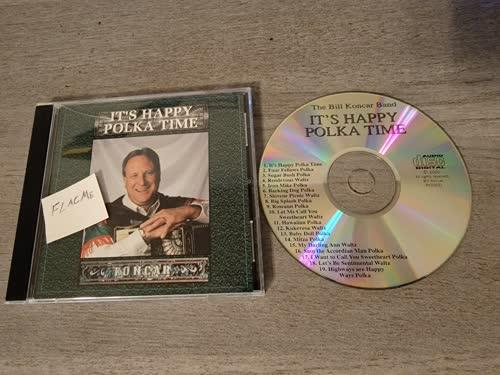 The Bill Koncar Band - Its Happy Polka Time (2000) [FLAC] Download