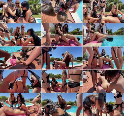 Pegging Gang Bang On The Swiming Pool [HD 1078P]